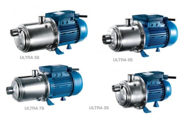 Máy bơm ly tâm đa tầng cánh hiệu Pentax - Model: ULTRA S