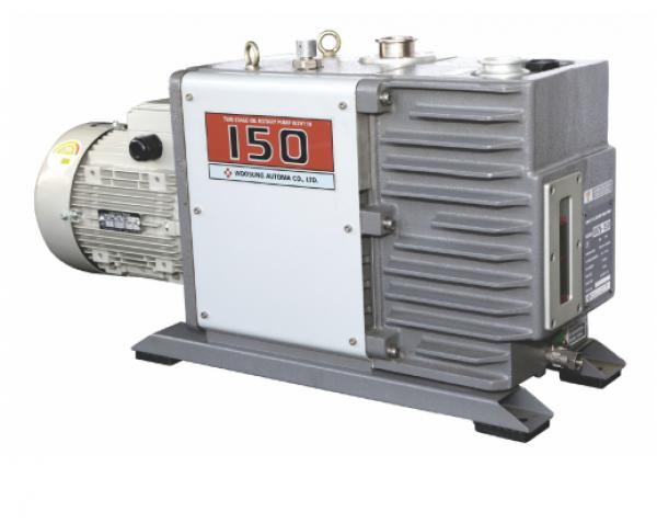 Máy bơm hút chân không vòng dầu hai cấp hiệu DOOVAC - KOREA. Model:W2V150