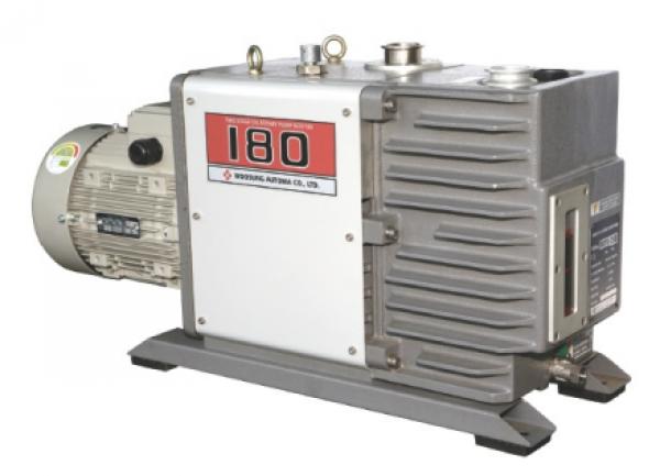 Máy bơm hút chân không vòng dầu hai cấp hiệu DOOVAC - KOREA. Model:W2V180