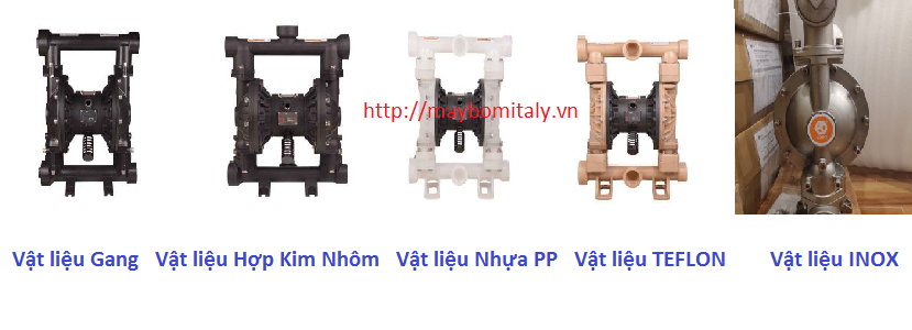 Bơm Màng Khí Nén GODO Model: QBY3-50