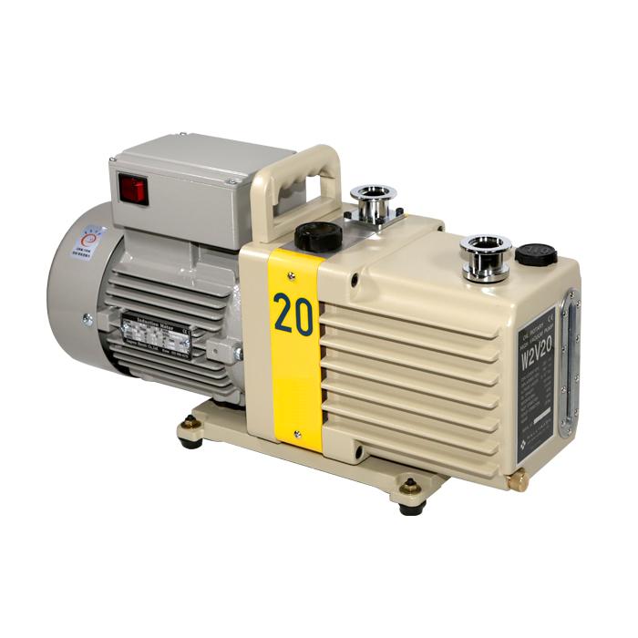 Máy bơm hút chân không vòng dầu hai cấp hiệu DOOVAC - KOREA. Model:W2V20