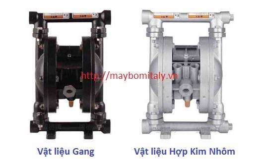 Bơm Màng Khí Nén GODO Model: QBY3-15